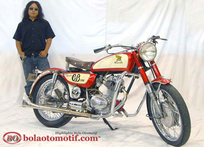 Modifikasi CB100 Jadul 6