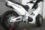 Modifikasi Extriem Motor Honda Supra X 125-3