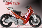 Modifikasi Extriem Motor Honda Supra X 125-4