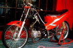 Modifikasi Extriem Motor Honda Supra X 125-7