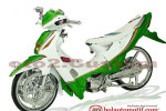 Modifikasi Extriem Motor Honda Supra X 125-8