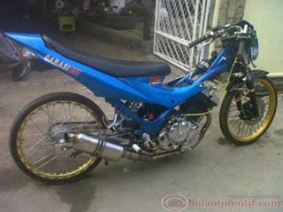 Satria FU Drag Bike Upgrade