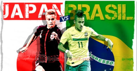 Brazil vs Japan Piala Konfederasi 2013