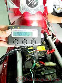 Setting CO FI Diagnostic Tool Yamaha