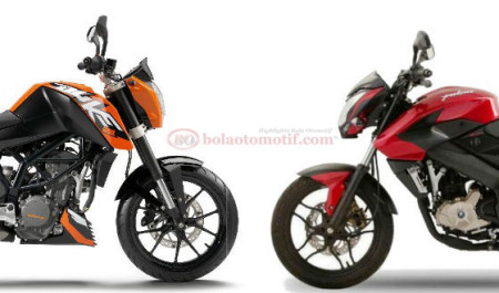 Perbandingan Duke 200 & Pulsar 200NS - 1